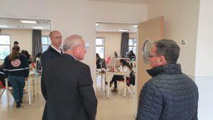 סגן שר הבריאות אבי דיכטר בביקור במדא – צילום דוברות מדא