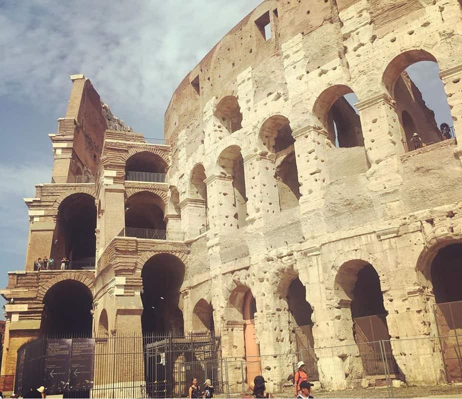 הקולוסיאום ברומא. צילום: נטלי פורטי