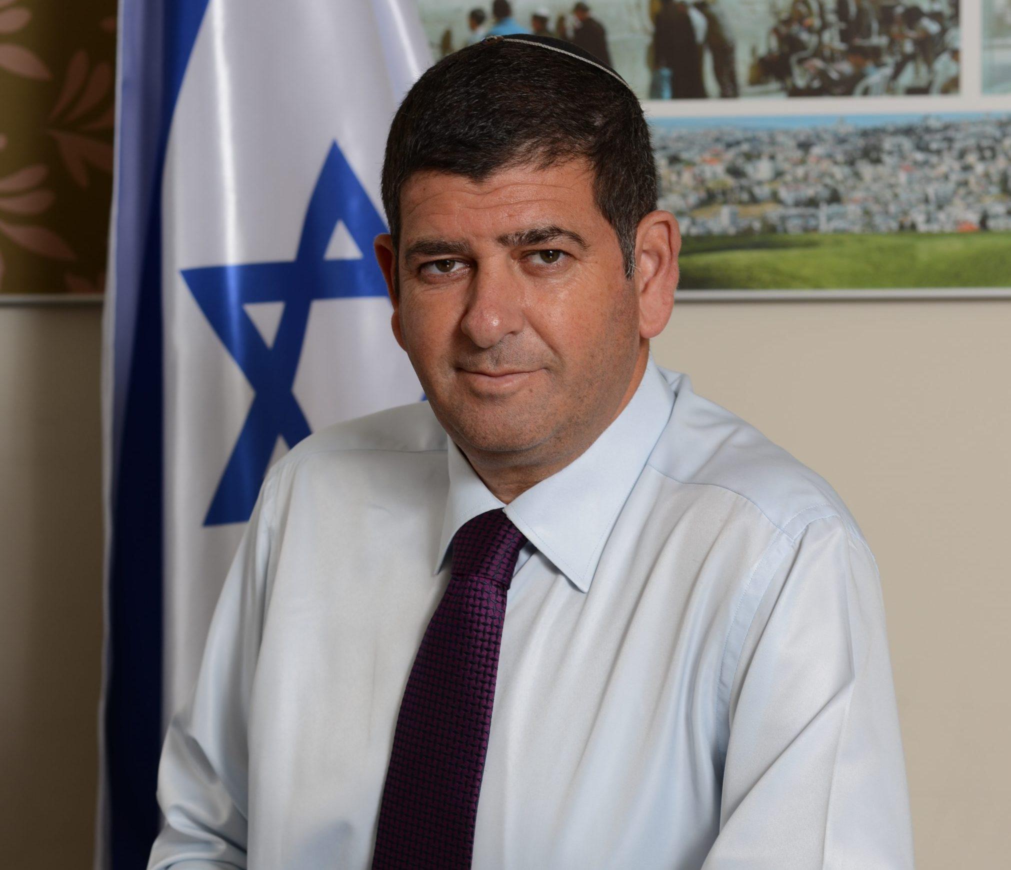 יוסי ברודני ראש עיריית גבעת שמואל. צילום: דוברות גבעת שמואל