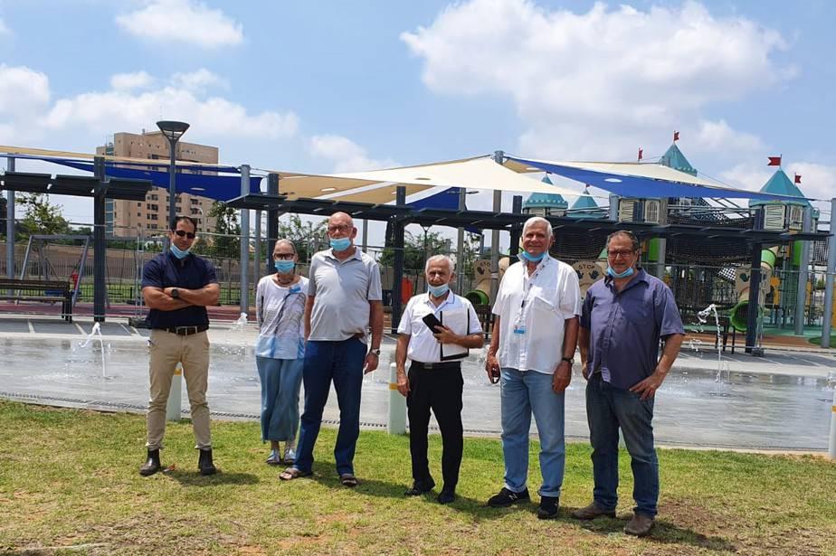 ישראל יפה , צילום: דוברות עיריית גבעת שמואל