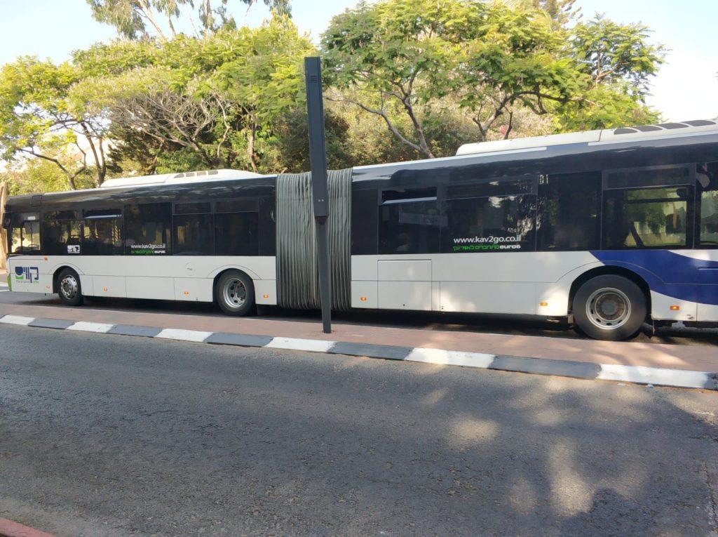 אוטובוס מפרקית (צילום: פרטי)
