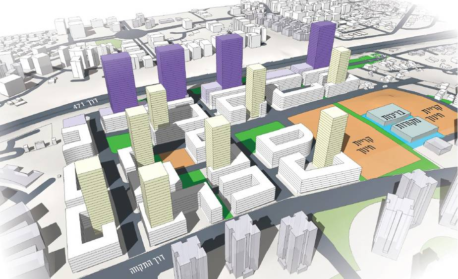אילוסטרציה: משרד נעמה מליס אדריכלות ובינוי ערים