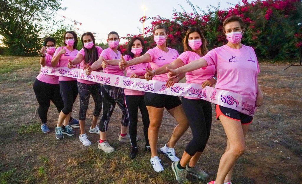 קבוצת הבנות גמאני רצה (צילום: איה בן עזרי)