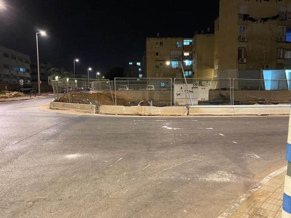 מעבר חצייה מחוק באור יהודה. צילום: מערכת אונו ניוז