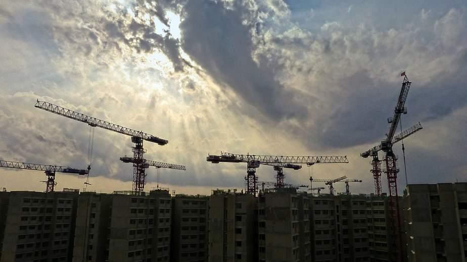 בנייתו דירות בעיצומה (צילום אילוסטרציה pixabay)