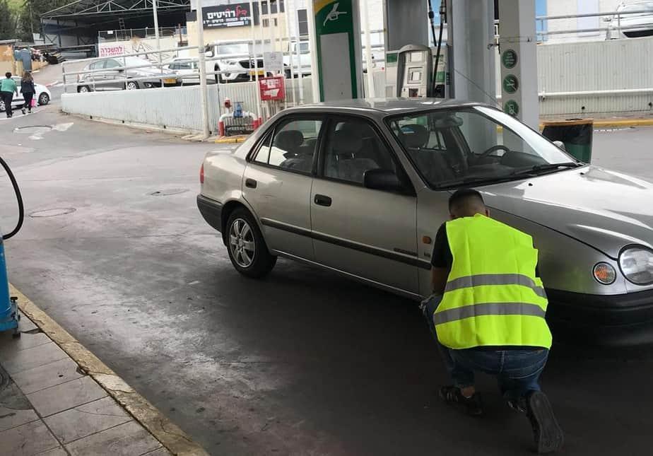 בדיקות כלי רכב (צילום אור ירוק)