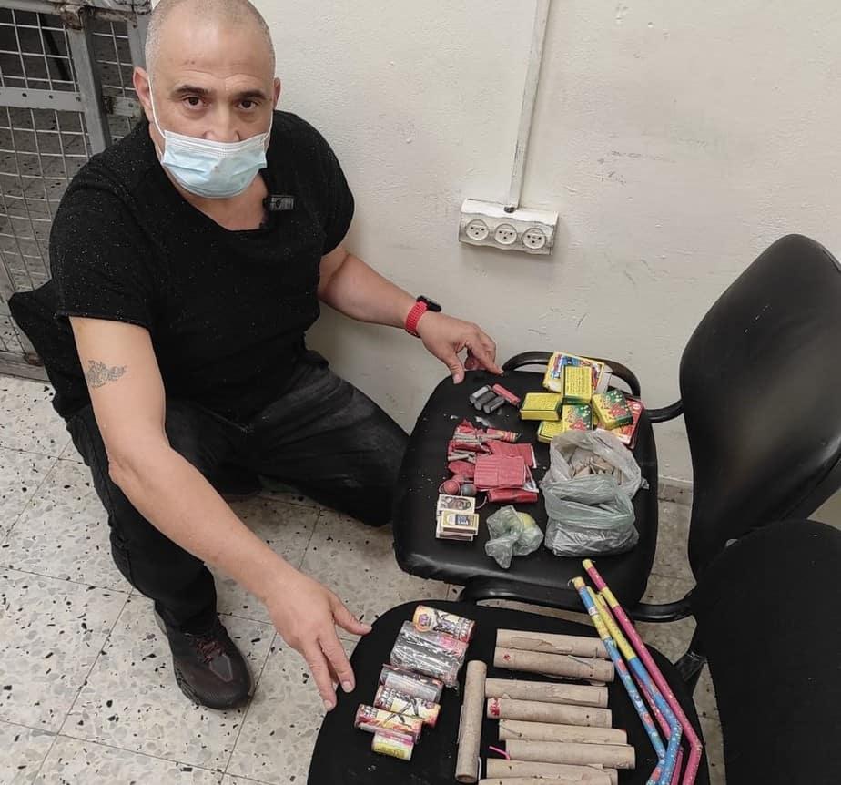 אכיפת חומרים מסוכנים בגבעת שמואל ( צילום דוברות העירייה)