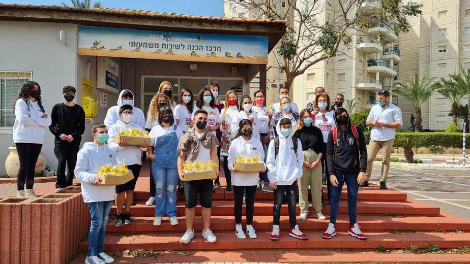 מועצת הנוער וקפה אמאצילום:דוברות עיריית אור יהודה