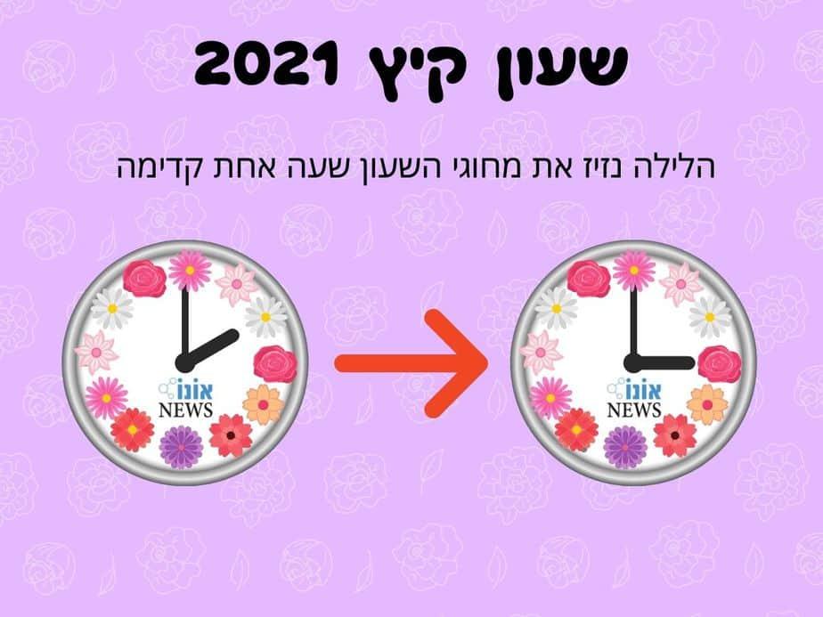 שעון קיץ 2021 (אונו NEWS)