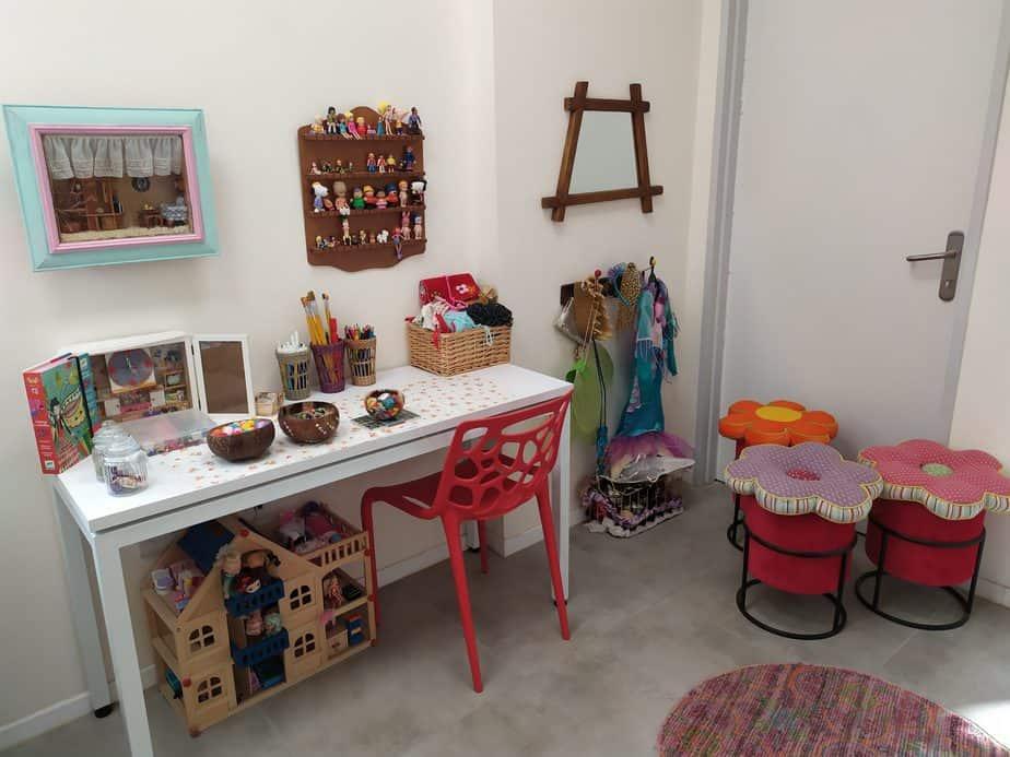 חדר הטיפולים של הילדים במרכז לשלום המשפחה (צילום עיריית קריית אונו)