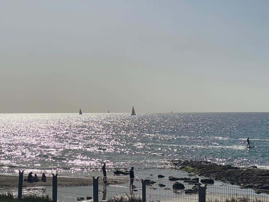 חוף ים תל אביב. צילום אונו NEWS