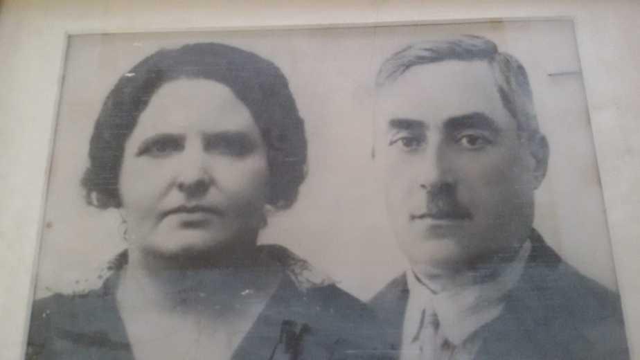 שרדו את התופת. הוריו של יעקב פרס (צילום פרטי)