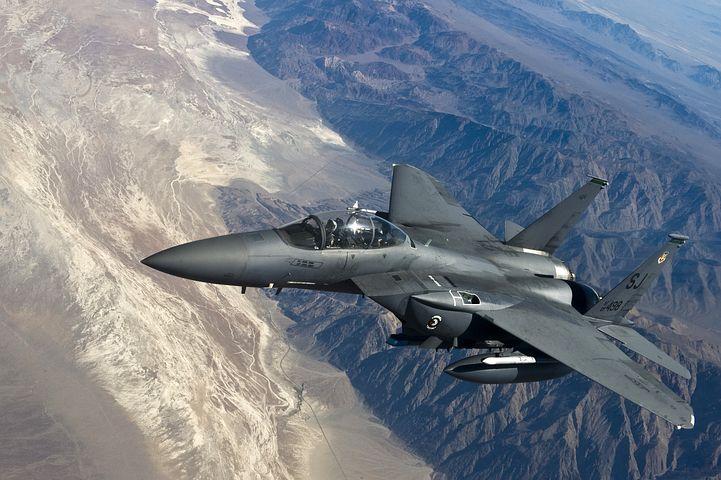 F15 אחד המשתתפים במטס (תצלום אילוסטרציה pixabay)