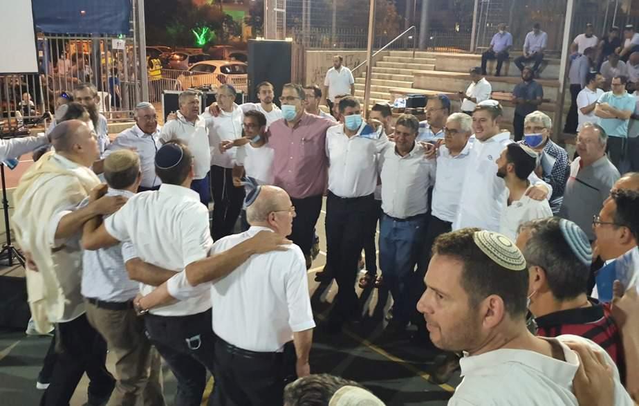 גבעת שמואל חוגגת את יום ירושלים (צילום דוברות העירייה)