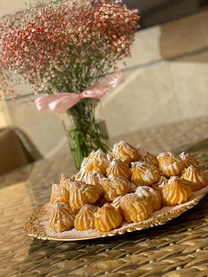המתכון של לורן פפיסמדוב – פחזניות במילוי קצפת וניל