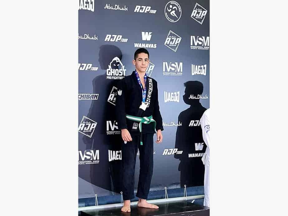 עילי פלץ בתחרות AJP. צילום: באדיבות טל פלץ