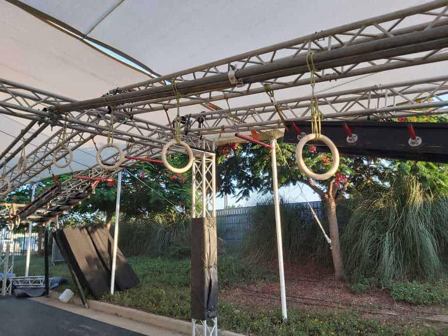 אחד ממתקני מתחם הנינג'ה. צילום: באדיבות מתחם NINJA FUN ביהוד