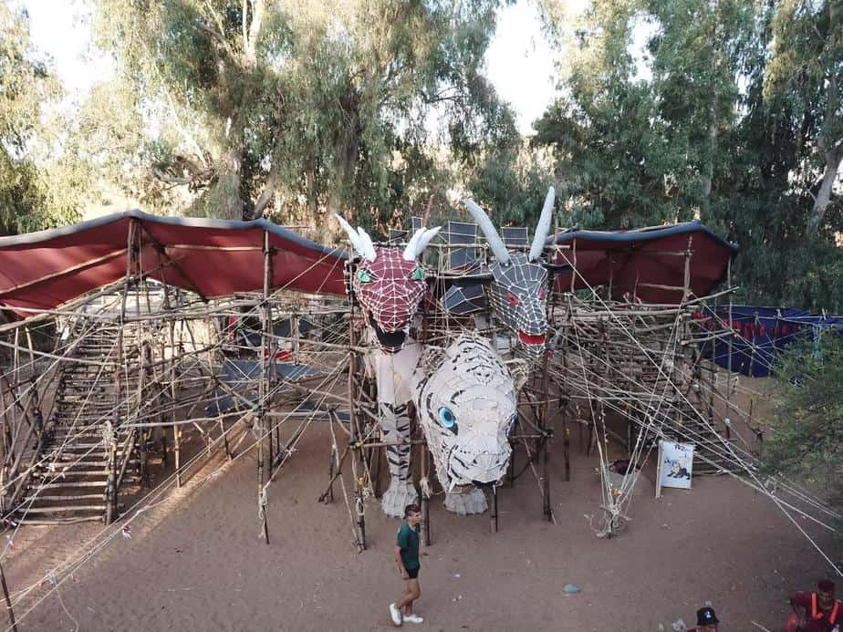 שער המחנה של שבט יהודה. צילום: יוסי מויאל וניסים יצחק