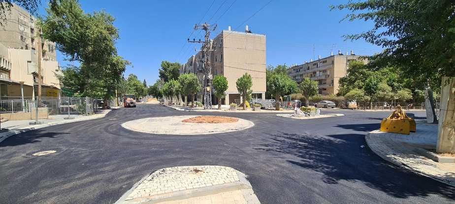 כיכר הרמה-הרי יהודה. צילום: דוברות מועצת גני תקווה