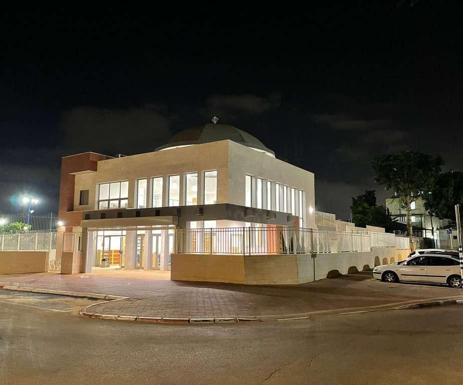 בית הכנסת של הקהילה האתיופית באור יהודה. צילום: באדיבות הבטמו אייאיו
