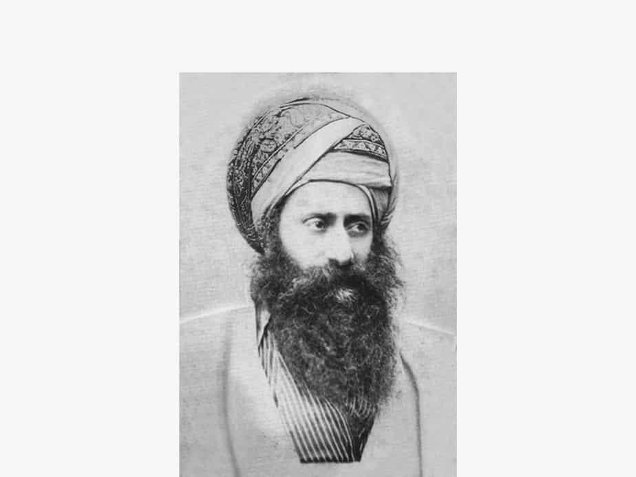 """הרב יוסף חיים זצ""""ל. צילום: באדיבות המרכז למורשת יהדות בבל"""