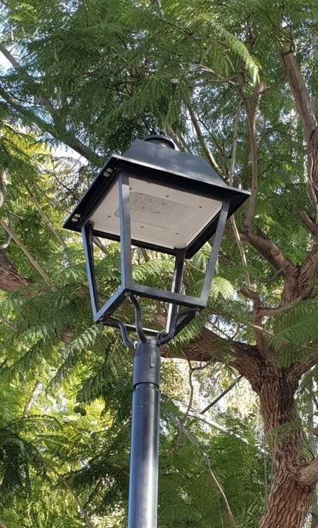 תאורת לד בסביון. צילום: דוברות המועצה המקומית סביון